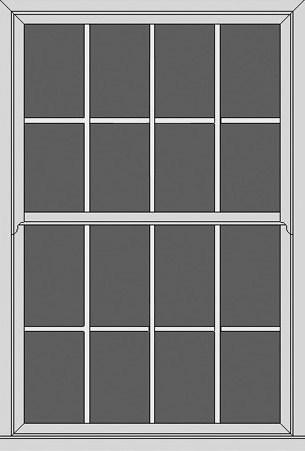 Georgian style window