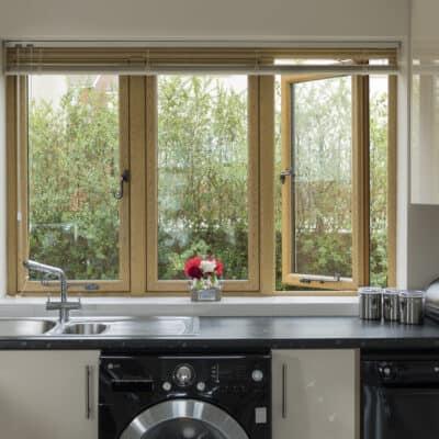 upvc casement window kitchen interior