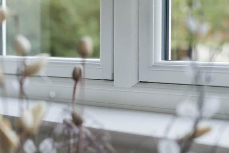 Flush casement window alternative to timber