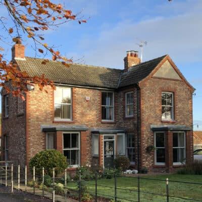 beautiful Edwardian property with sash windows