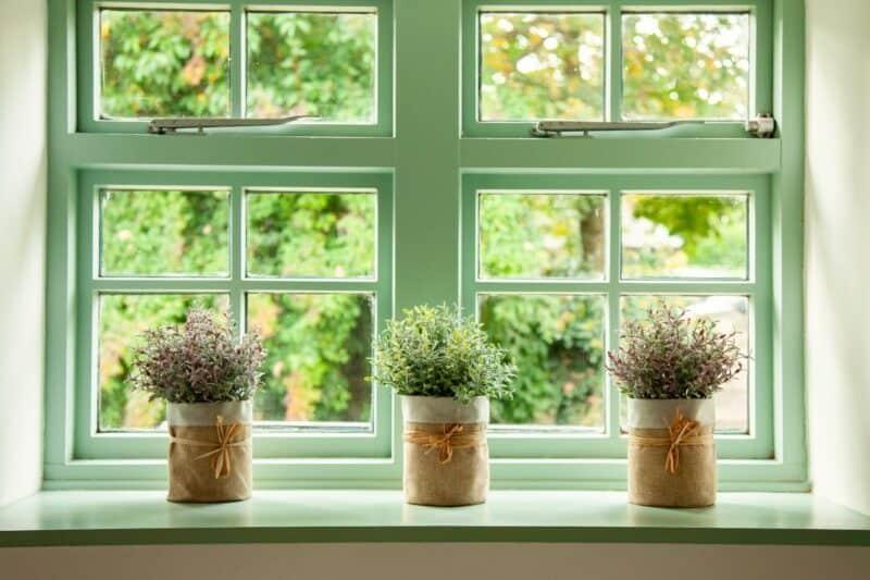 cottage windows styling