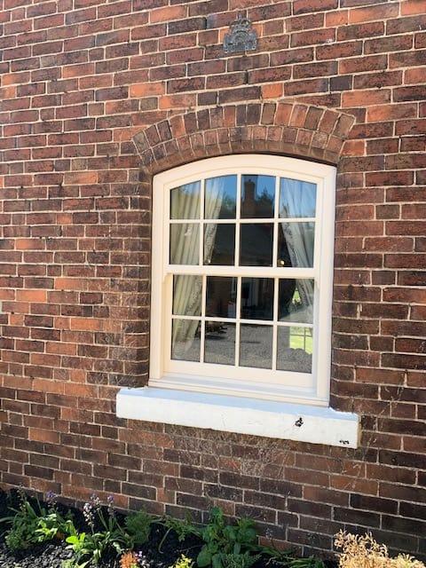 Genesis Vertical sliding sash installed by Kensington Windows Derby