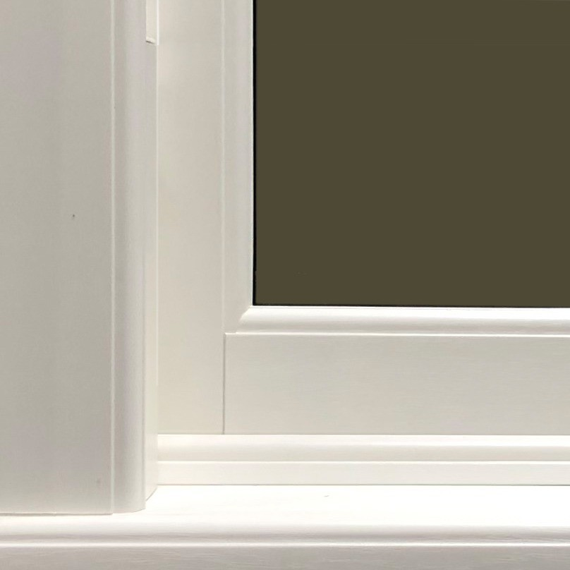 standard bottom rail windows