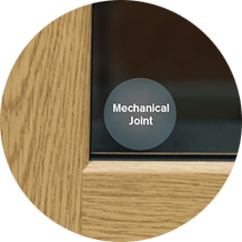 Vertical Sliding Window Mechanical Joint