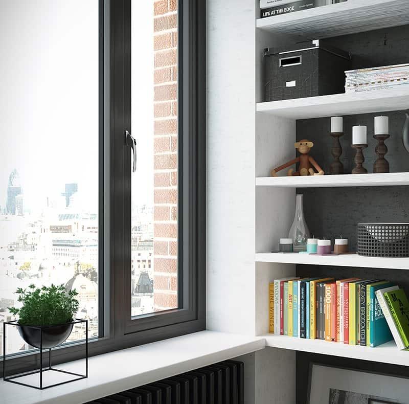 aluminium warmcore windows