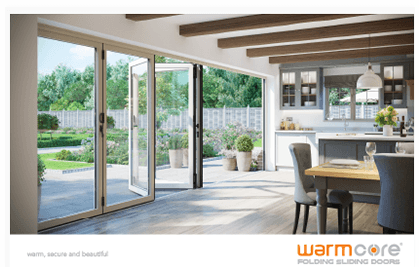 WarmCore Doors in Kitchen