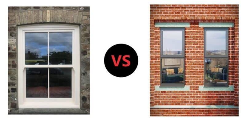 Comparing uPVC and Aluminium Windows