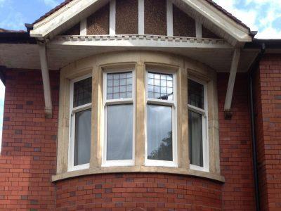 Edwardian style windows