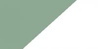 Chartwell Green / White PVC