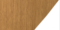 Ginger Oak Super Matt / White PVC