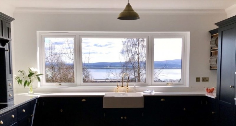 How long do uPVC windows last - window in kitchen
