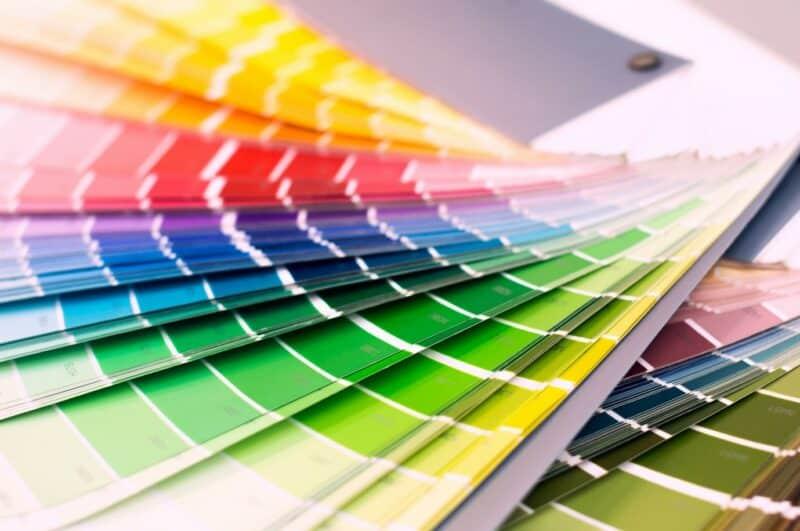 modern window colour range