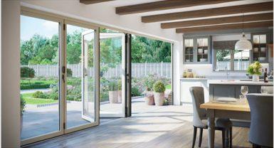 warmcore sliding aluminium patio door
