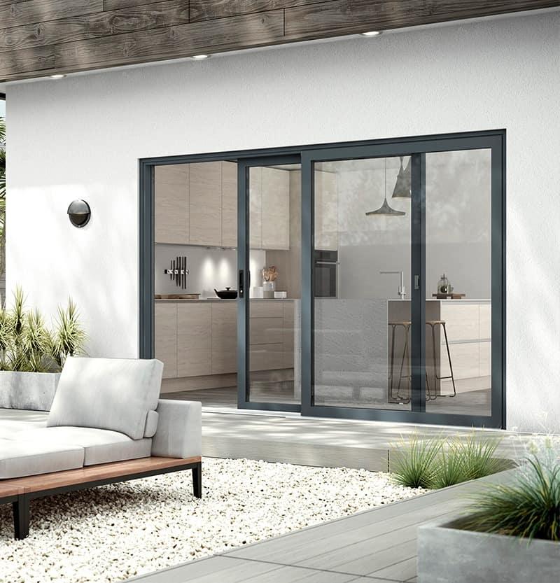 WarmCore patio doors lifestyle