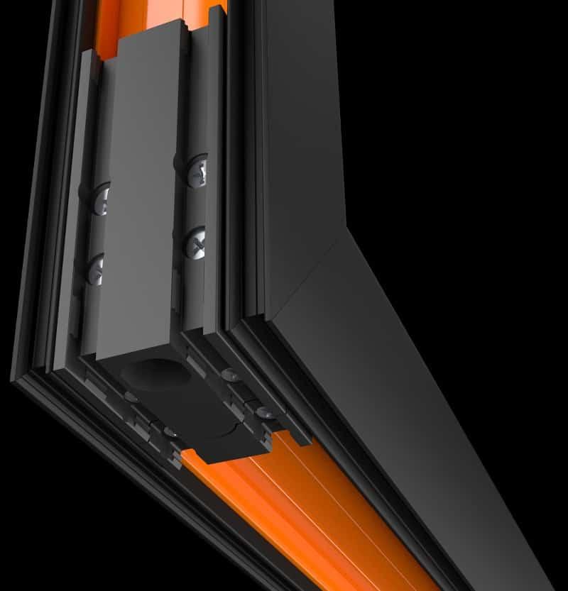 WarmCore patio doors features
